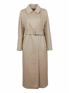 Beige Cashmere Coat