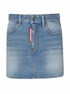 Dsquared2 Denim Mini Skirt