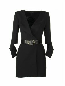 Elisabetta Franchi Celyn B. Mini Dress With Belt
