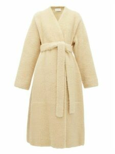 The Row - Tanilo Merinillo Shearling Wrap Coat - Womens - Cream