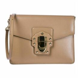 Dolce & Gabbana Leather Shoulder Bag Lucia