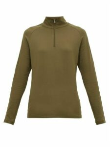 Bogner - Hayden Logo-stripe Technical Thermal Top - Womens - Khaki