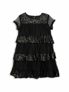 Girl's Sequin Tulle Dress