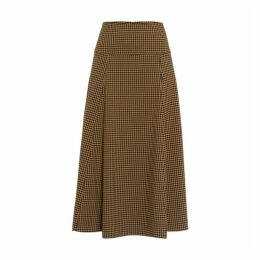 Ivy & Oak Midi Skirt Checked