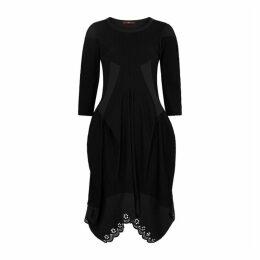 HIGH Praise Striped Jersey Dress