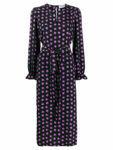 Essentiel Antwerp floral print Tellen dress - Black