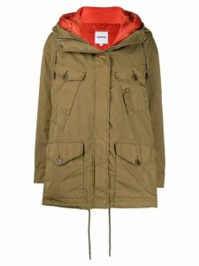Aspesi short hooded parka - Neutrals