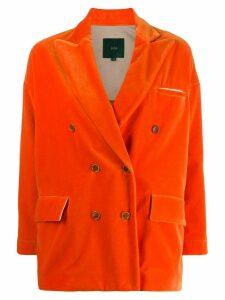 Jejia loose-fit double-breasted blazer - Orange