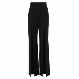 IGGY & BURT - Zebra Crew Neck Jumper In Plum