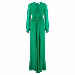 Libelula - Long Jessie Dress Emerald Georgtte