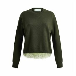 IN. NO - Army Icelyn Feather Sweater