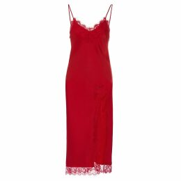 Mellaris - Eleanor Dress Pink Purple Contrast