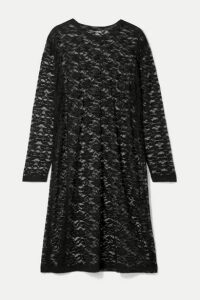 Norma Kamali - Stretch-lace Dress - Black