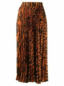 Andamane Becky zebra print skirt - Orange