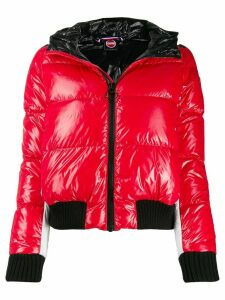 Colmar fitted puffer jacket - Red