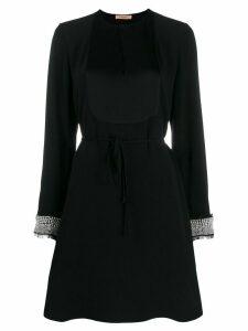 Twin-Set embellished shift dress - Black