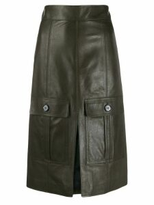 Chloé high-waisted skirt - Green
