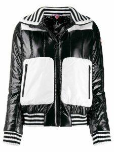 Colmar colour block bomber jacket - Black
