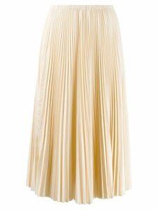 Alysi pleated skirt - NEUTRALS