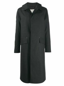 Mackintosh Grey Bonded Cotton Riding Coat GR-101/W
