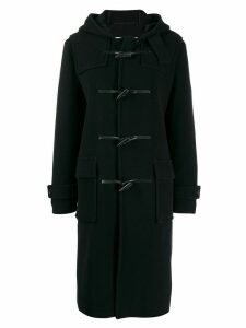 Mackintosh Navy Wool Blend Long Duffle Coat GM-028S/W - Blue