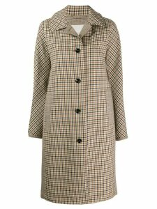Mackintosh FAIRLIE Shepherd Check Wool Coat LM-079 - Neutrals