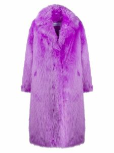 STAND STUDIO faux fur coat - PURPLE