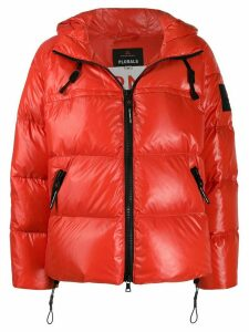 Peuterey hooded puffer jacket - Red