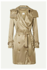 Burberry - The Kensington Hooded Econyl Trench Coat - Beige