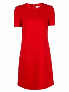 Carolina Herrera short shift dress - Red