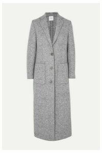 Agnona - Mélange Wool Coat - Dark gray