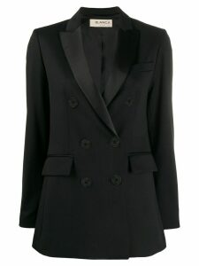 Blanca tailored double-breasted blazer - Black