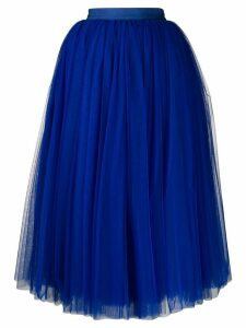 Dolce & Gabbana circle tulle skirt - Blue