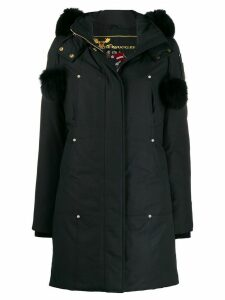 Moose Knuckles hooded parka coat - Blue