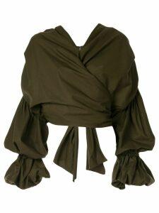 Acler Melross blouse - Green