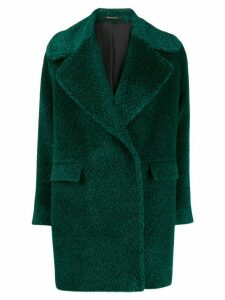 Tagliatore Astrid faux-fur coat - Green