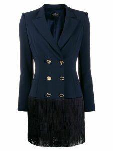 Elisabetta Franchi fitted blazer dress - Blue