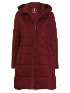 Save The Duck fitted padded coat - Red