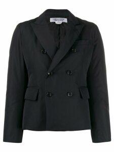 Comme Des Garçons Comme Des Garçons double buttoned padded blazer -