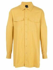 Bernhard Willhelm Masa long shirt - Yellow
