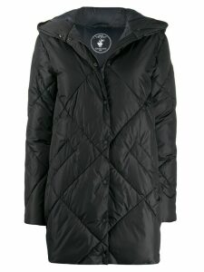 Save The Duck quilted padded coat - Black