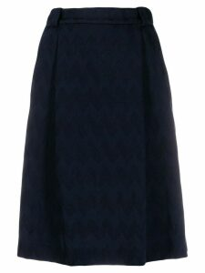 Missoni woven A-line skirt - Blue
