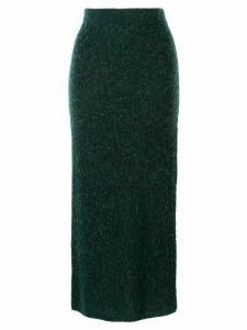 G.V.G.V. knitted pencil skirt - Green