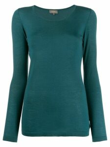 N.Peal cashmere round neck sweater - Blue