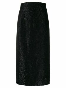 16Arlington high waist lurex skirt - Black