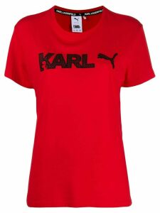 Karl Lagerfeld x Puma T-shirt - Red