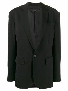 Dsquared2 boxy fit blazer - Black