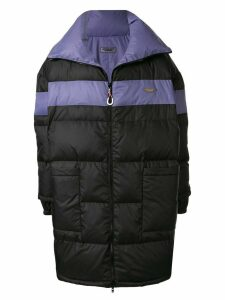 Ground Zero padded oversized coat - PURPLE