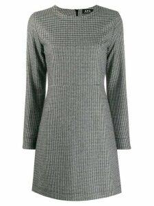 A.P.C. houndstooth pattern dress - Black