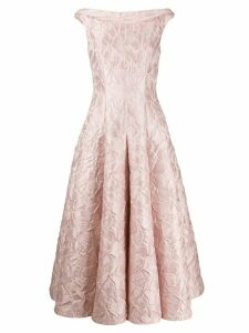 Talbot Runhof Tomini dress - Pink
